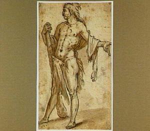 Staande Hercules, kijkend naar links