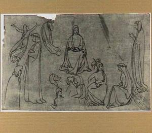 Personages uit Dantes 'Divina Commedia'