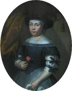 Portret van Anne Jacobsdatter, vrouw van Hans Sørensen Leth