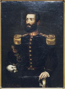 Portret van Charles Wilkens
