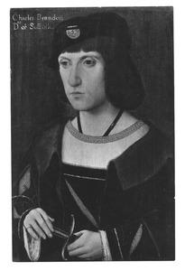 Portret van Charles Brandon, hertog van Suffolk