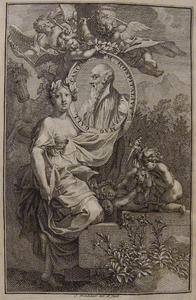 Erato toont het portret van Michael Hospitalius