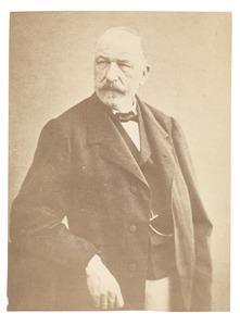 Portret van een man, waarschijnlijk Frederic Carsile baron van Pallandt (1810-1869)