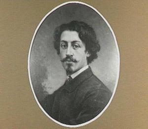 Portret van de schilder Maurits Leon