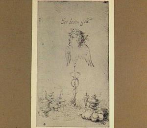 Het embleem van Hendrick Goltzius