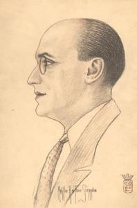 Portret van A.N.S.W.L. Coblijn (1883- )