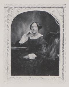 Portret van Agatha Henriette van Notten (1829-1908)
