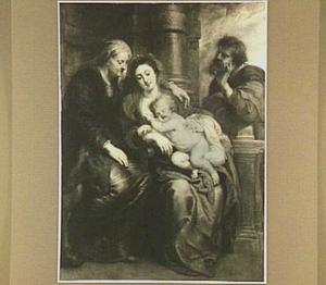 De Heilige Familie met de H. Anna