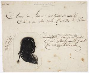 Portret van Galenus Dignus Steengracht (1763-1839)