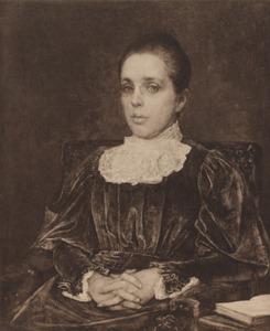Portret van Alieda Maria Tutein Nolthenius (1855-1910)