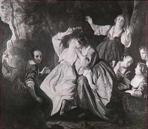 De kroning van Mirtillo (Guarini, Il pastor fido)