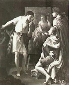 Alexander de Grote in het atelier van Apelles