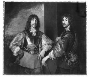 Dubbelportret van Mountjoy Blount, Earl of Newport en George, Lord Goring
