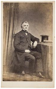 Portret van Bernardus Henricus Everts (1810-1883)