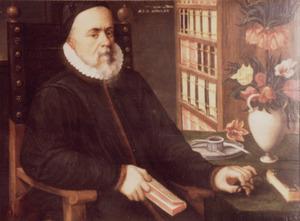 Portret van mogelijk Carolus Clusius (1526-1609)