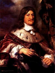 Portret van Friedrich Wilhelm von Brandenburg (1620-1688)