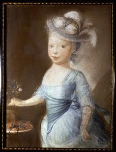 Portret van Klasina Johanna Jacoba de Vlieger (1768-1798)