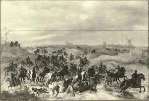 Gevecht tussen Bréauté en Lekkerbeetje bij 's-Hertogenbosch