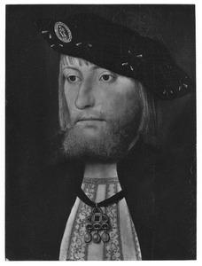 Portret van een man met baard