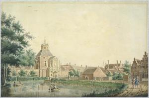 De Wittevrouwenpoort te Utrecht gezien vanaf Wittevrouwensingel