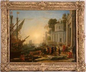 De ontscheping van Cleopatra op Tarsus