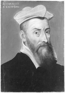 Portret van Odet de Coligny (1517-1571), kardinaal van Châtillon