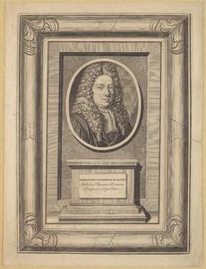 Portret van Herman Oosterdijk Schacht (1672-1744)