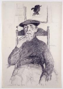 Portret van de kunstenaar Dirk Nijland