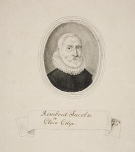 Portret van Rombout Jacobsz (1546-1629)