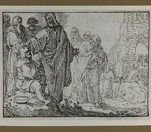 Christus geneest een blinde bedelaar bij Jericho (Lucas 18:35-43)