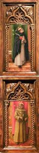 H. Antonius van Padua; H. Dominicus