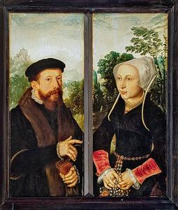 Jan Jacobsz. van Rosendael en Lydia Amelisdr. van Rijswijk
