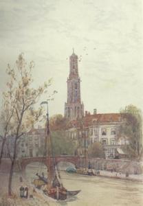 De Oudegracht in Utrecht