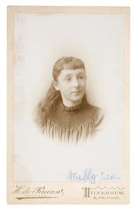 Portret van Melicent Agnes Gülcher (1882-1966)