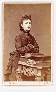 Portret van Johanna Helena Elizabeth van der Mandere (1849-1886)