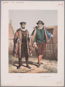 Portret van Paulus Buys (1531-1594) en Dirck Volckertsz. Coornhert (1522-1590)