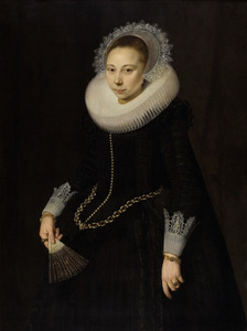 Portret van Maria Overrijn van Schoterbosch