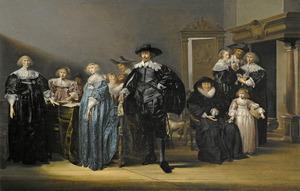 Portret van de familie Twent