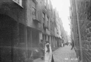 Gezicht op de Lange Lijnstraat te Rotterdam