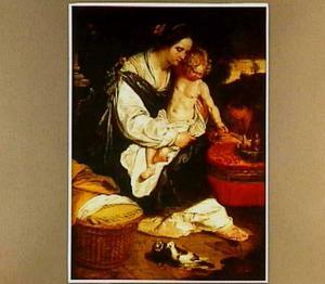 Maria met kind en Johannes als kinderen