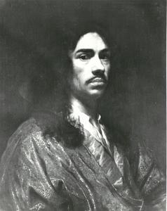 Zelfportret van Wallerant Vaillant (1623-1677)