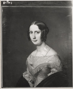Portret van Wolthera Elisabeth Kock (1810-1841)