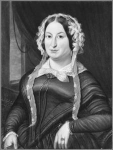 Portret van een vrouw, waarschijnlijk Wilhelmina Jacoba Sophia Torre (1799-1859)