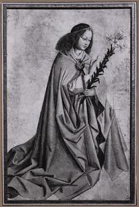 De aartsengel Gabriël van de Annunciatie