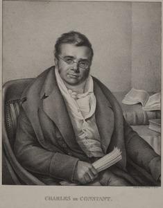 Portret van mogelijk Charles Samuel de Constant Rebecque (1762-1835)
