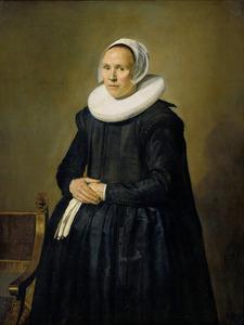 Portret van Feyna van Steenkiste (?-1640)
