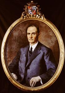 Portret van Emile Jules Strick van Linschoten (1887-1947)