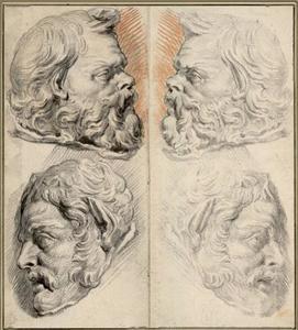Hoofden van Romeinse soldaten
