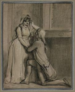 Coenraad  van Hulst vraagt Dorothea Andriessen ten huwelijk