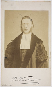 Portret van Willlem Koster (1834-1907)